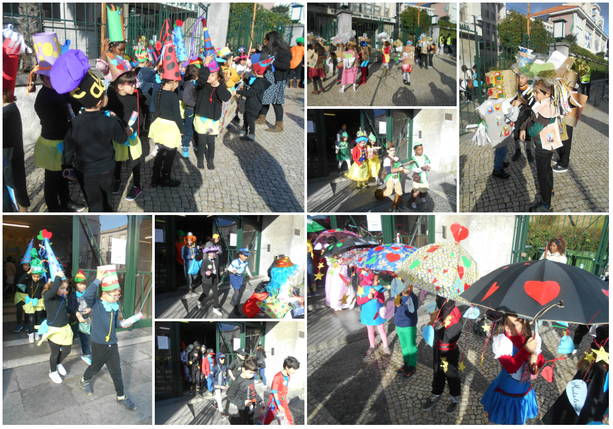 collage carnaval 1 saida escola