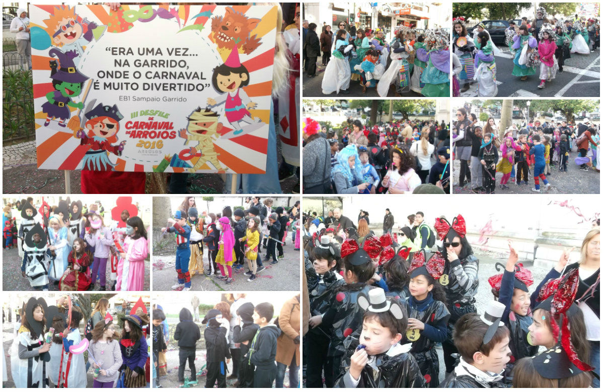collage carnaval 2016 criancas d