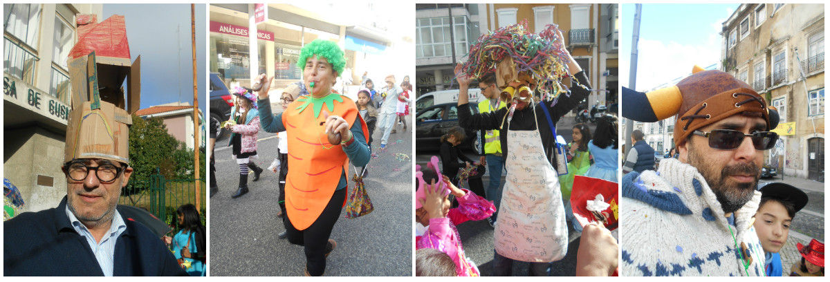 collage carnaval profs